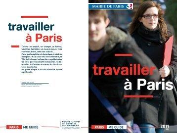 travailler à Paris - Carrefour Emploi