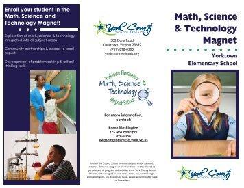 YES Magnet Program Brochure - York County Schools