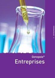 Annuaire Genopole 2010 - Les entreprises