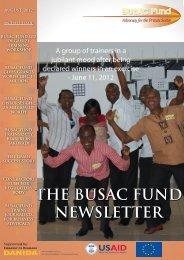 August 2012 Newsletter - BUSAC