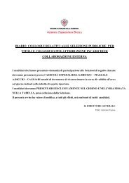 diario colloqui 21.12 - Azienda ospedaliera G. Brotzu
