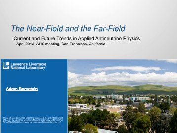 Current and Future Trends in Applied Antineutrino ... - Local Sections