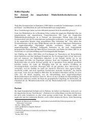 Hollósi Hajnalka Der Zustand des (ungarischen ... - Grotius