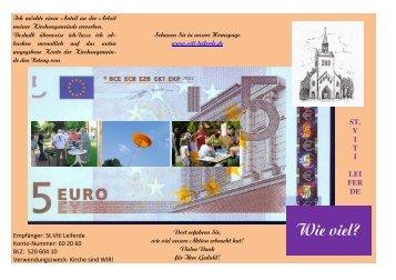 Flyer-Kirche sind WIR - St. Viti Kirchengemeinde Leiferde