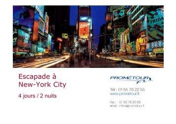 PROG NYC 4J-2N - Prometour
