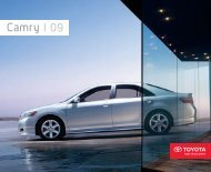 Camry 09 - Toyota Canada