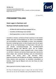 PRESSEMITTEILUNG - IVD Mitte Ost