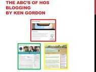 The ABC's of Head of School Blogging