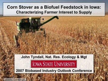 John Tyndall - Bioeconomy Conference 2009