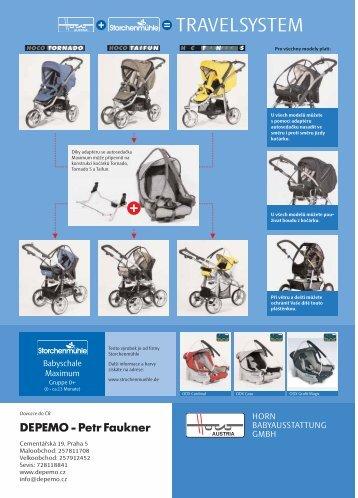 Katalog kočárky HOCO 2006 - Depemo