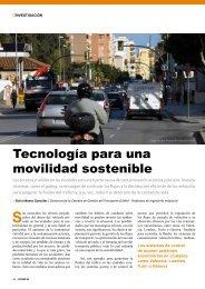 Tecnología para una movilidad sostenible