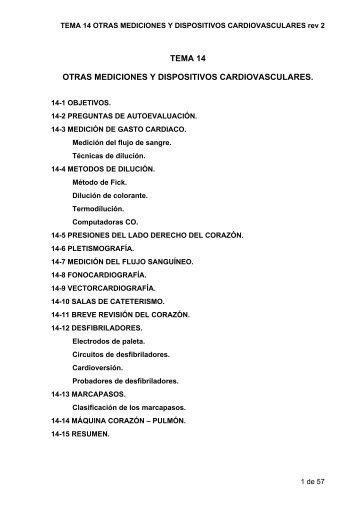 TEMA 14 OTRAS MEDICIONES Y DISPOSITIVOS ... - GAMA FIME