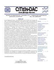 Boletin CITEIN-DAC. Ciencia, Tecnología e Innovación No. 1