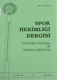 HEKiMLIGI - Spor Bilim