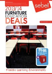 Furniture Educatoin Deals 2013/14 - Sebel