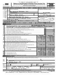 2008 Form 990 - The Resource Exchange
