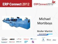 Michael Mortiboys - The Manufacturer.com