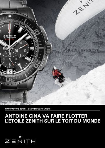 CinA - Zenith Watches Events