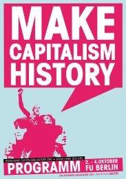 PrograMM - Make Capitalism History Kongress