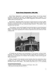 Boyle Street, Balgowlah: 1906-2004. - Manly Council