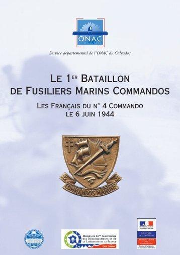 Le 1er Bataillon de Fusiliers Marins Commandos - ONAC