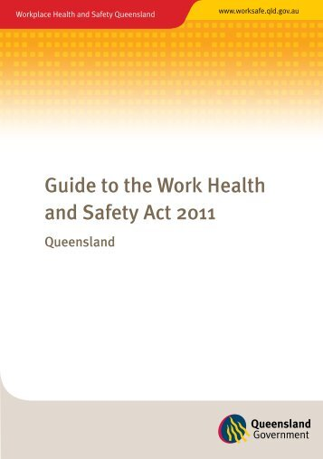 Guide to the Work Health and Safety Act 2011 ... - Community Door