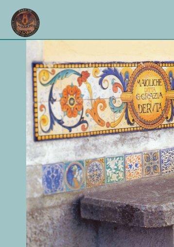 A history of Italian tiles - 7 (2001) - Infotile