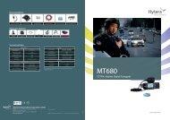 TETRA Mobiles Digital-Funkgerät