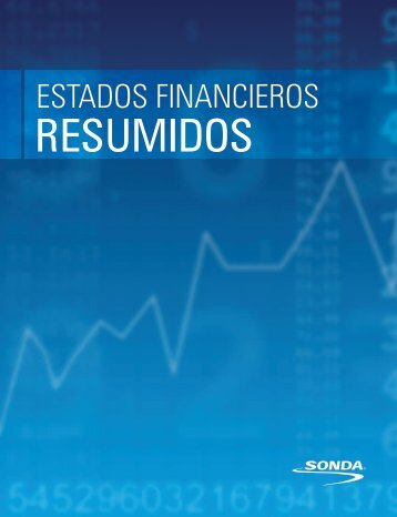 Estados Financieros Resumidos - Sonda