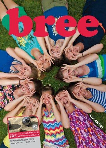 Stadsmagazine zomer 2013 - Stad Bree