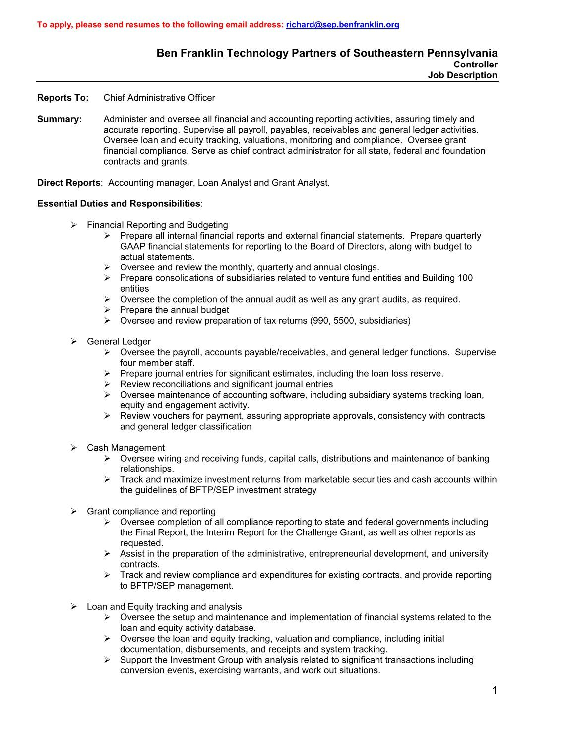 equity accounting internship position description equity accounting