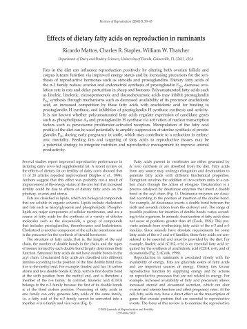 Mattos, et. al. - Reproduction