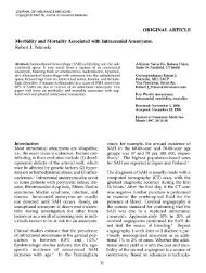 Morbidity and Mortality Associated with Intracranial Aneurysms.