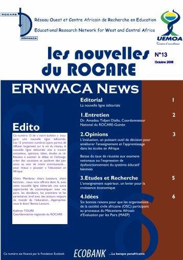 Bulletin #13 FR.pub - ERNWACA