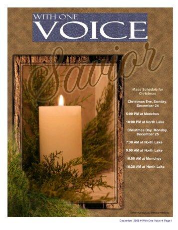 NewsDec06 - Blessed Teresa of Calcutta Parish