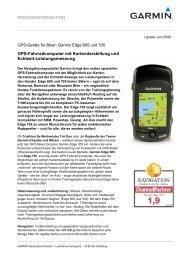 PRESSEINFORMATION GPS-Fahrradcomputer mit ...