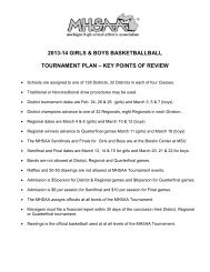 Team Dual Tournament Public Address Announcer Scripts