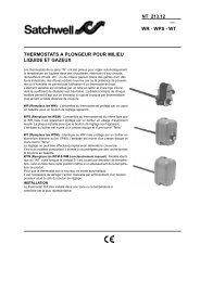 nt 213.12 wr - wps - wt thermostats a plongeur pour milieu ... - Xref