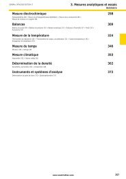 3. Mesures analytiques et essais - Wenk Lab Tec