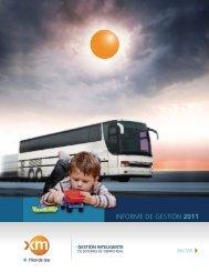 Informe Anual 2011 (pdf) - XM