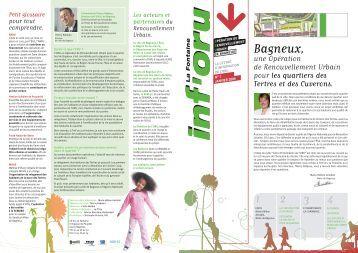 Inf'oru n°1 - janvier 05 - Bagneux