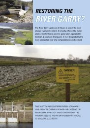 Garry leaflet2.indd - Save the Garry