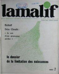 Driss Chraïbi: d'une - Bibliothèque Nationale du Royaume du Maroc