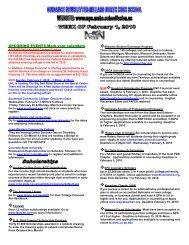 Scholarship - Millard North High School