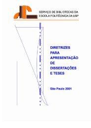 Diretrizes para a Elaboração da Documentação - PCS - USP