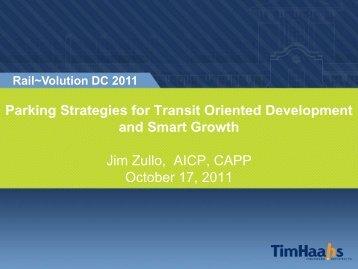 Parking Strategies for Transit Oriented Development ... - Rail~Volution
