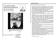 Ausgabe 3-2009 - St. Viti Kirchengemeinde Leiferde