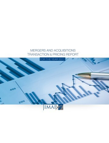 2011 IMAP Transaction & Pricing Report