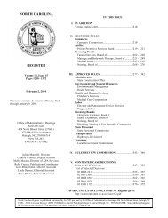 Volume 18, Issue 15, February 2, 2004 - Office of Administrative ...