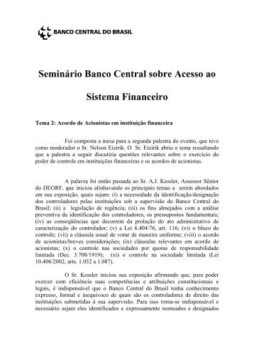 tema2.PDF(106KB) - Banco Central do Brasil
